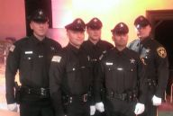Academy Graduation (left to right) Ofc.B.Hurley, Ofc. J. Camp, Ofc. W. Schellhas III, Ofc. A. Gonzalez, Ofc. J. Ripa