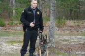 K9 Officer Gilmore and partner Billie