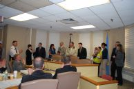 Swearing in new Officers